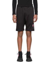 Y-3 - Black James Harden Satin Shorts - Lyst