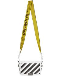 Off-White c/o Virgil Abloh - Sac a rabat blanc Diagonal Mini Binder Clip - Lyst
