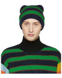 KENZO - Multicolor Striped Memento Beanie - Lyst