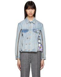 3.1 Phillip Lim - Indigo Denim Jacket - Lyst