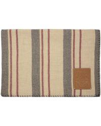 Loewe - Multicolor Stripes Blanket - Lyst