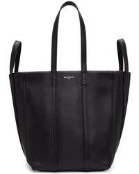 Balenciaga - Black Small Laundry Cabas Tote - Lyst