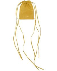 Jacquemus - Yellow Le Pequeno Pouch - Lyst