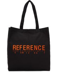 Yang Li - Ssense Exclusive Black Reference Tote - Lyst