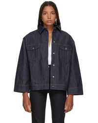 Totême  - Indigo Bissau Denim Jacket - Lyst
