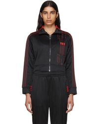 Alexander Wang - Black Crop Track Jacket - Lyst