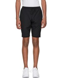 Nike - Black Tech Knit Shorts - Lyst