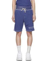 Saturdays NYC - Ssense Exclusive Blue Austin Shorts - Lyst