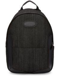 Maison Margiela - Black Denim Backpack - Lyst