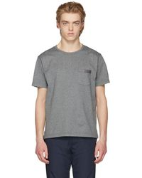 Nanamica - Grey Crewneck T-shirt - Lyst