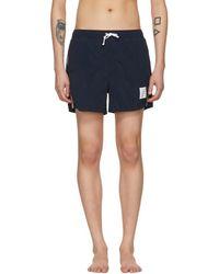 Thom Browne - Navy Classic Swim Shorts - Lyst
