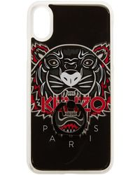KENZO - Black Limited Edition Tiger Ring Iphone X Case - Lyst