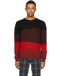 Paul Smith - Multicolour Colorblocked Knit Crewneck Jumper - Lyst