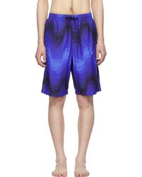c5bcf5f784 Dries Van Noten - Blue Verner Panton Edition Phibbs Long Swim Shorts - Lyst