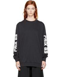 Won Hundred - Black Lango Sweatshirt - Lyst