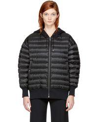 Burberry - Reversible Black Down Langleigh Jacket - Lyst