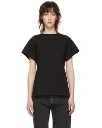 Totême  - Black Organic Espera T-shirt - Lyst