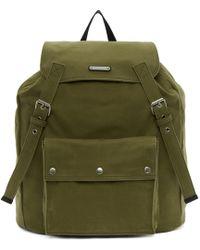 Saint Laurent - Khaki Noe Backpack - Lyst