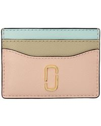 Marc Jacobs - Pink Snapshot Card Holder - Lyst