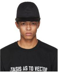 Sacai - Black Summer Wool Cap - Lyst