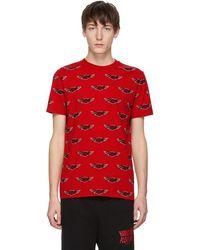 McQ - Red Racing T-shirt - Lyst