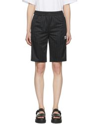 adidas Originals - Black Football Shorts - Lyst