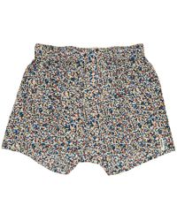 Druthers - Multicolor Mondrian Patterned Boxers - Lyst