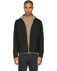 Rag & Bone - Reversible Black Harrington Jacket - Lyst