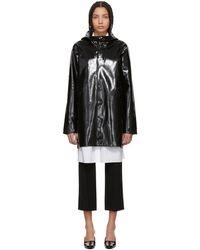 Stutterheim - Black High-gloss Stockholm Raincoat - Lyst