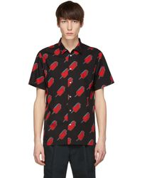 PS by Paul Smith - Black And Red Popsicle Shirt - Lyst