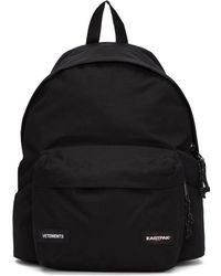 Vetements - Black Eastpak Edition Tourist Convertible Backpack - Lyst