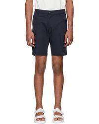 Noon Goons - Navy Club Shorts - Lyst