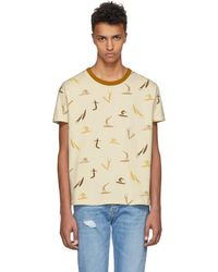 Levi's - White All Over Surf Print T-shirt - Lyst