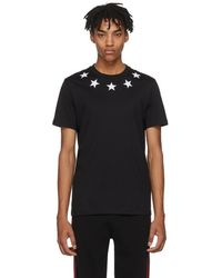 Givenchy - Black And White Stars T-shirt - Lyst
