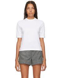 Thom Browne - White Sheer Back Crewneck T-shirt - Lyst