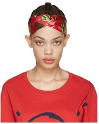 Gucci - Pink Wallpaper Headband - Lyst