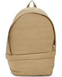 Wooyoungmi - Tan Classic Backpack - Lyst