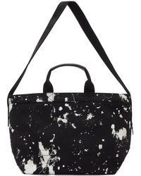 3.1 Phillip Lim | Black Paint Splatter East West Tote | Lyst