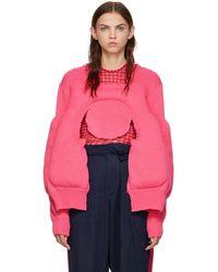 Comme des Garçons - Pink Padded Sweater - Lyst