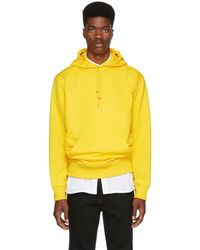 Helmut Lang - Yellow New York Taxi Hoodie - Lyst