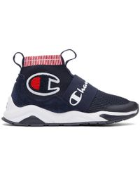 Champion - Navy Rally Pro Trainers - Lyst