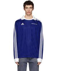 Gosha Rubchinskiy - Blue Adidas Originals Edition Football Polo - Lyst
