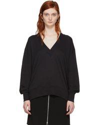 Rag & Bone - Black Flora Pullover - Lyst