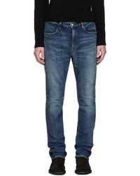 Nonnative - Indigo Tapered Dweller Jeans - Lyst