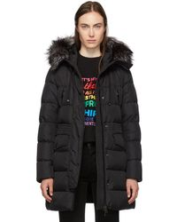 e31972c20 Black Down And Fur Aprhoti Coat