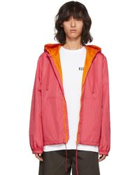 Acne Studios - Pink Marty Face Jacket - Lyst