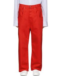 Wheir Bobson - Red Big Details Jeans - Lyst