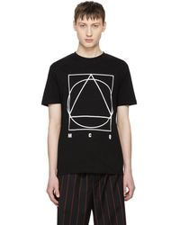 McQ - Black Glyph Icon T-shirt - Lyst