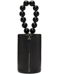 Building Block - Black Cylinder Wristlet Pouch - Lyst