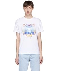 KENZO | White Limited Edition Tiger T-shirt | Lyst